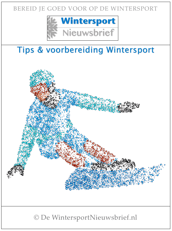 Gratis eBook Tips en voorbereiding WIntersport met de Wintersport Checklist