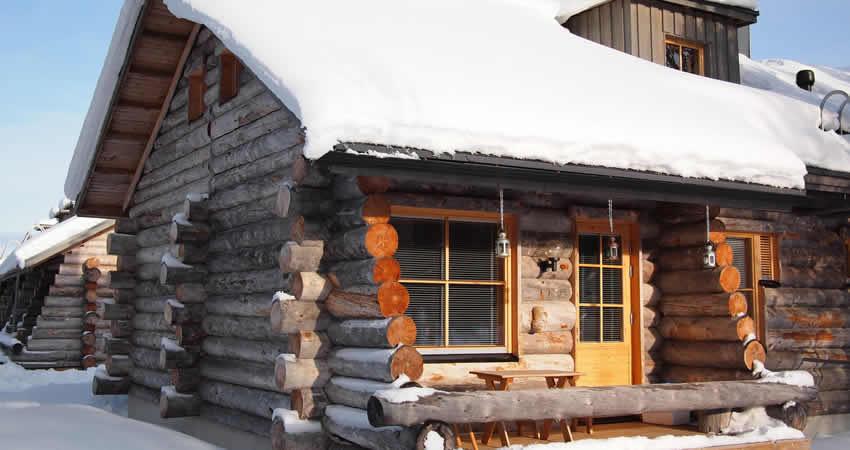 Chalets voor de wintersport