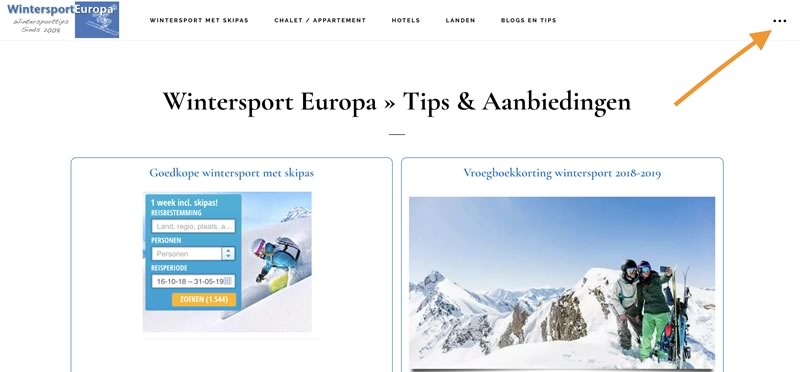Homepage Wintersport Europa