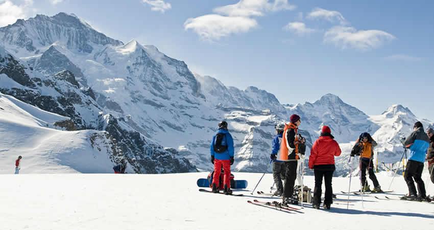 Wintersport Grindewald