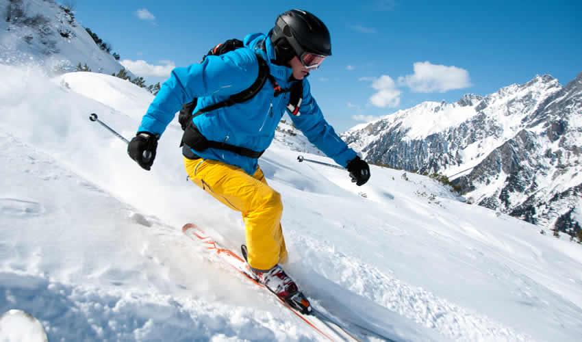 Wintersport in Zell am See en Kaprun