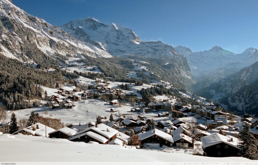 Wintersport Wengen